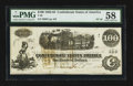 Confederate Notes:1862 Issues, T40 $100 1862 PF-20 Cr. 308.. ...