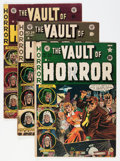 Golden Age (1938-1955):Horror, Vault of Horror #20, 24, and 29 Group (EC, 1951-53) Condition:Average VG.... (Total: 3 Comic Books)