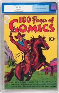 100 Pages of Comics #101 (Dell, 1937) CGC NM- 9.2 Off-white pages