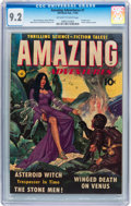 Golden Age (1938-1955):Science Fiction, Amazing Adventures #1 (Ziff-Davis, 1950) CGC NM- 9.2 Off-white towhite pages....