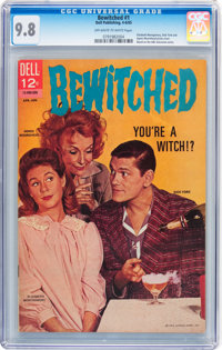 Bewitched #1 (Dell, 1965) CGC NM/MT 9.8 Off-white to white pages