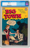 Big Town #1 (DC, 1951) CGC NM+ 9.6 Cream to off-white pages