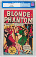 Golden Age (1938-1955):Superhero, Blonde Phantom #16 (Timely, 1947) CGC NM 9.4 Off-white pages....
