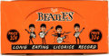 Music Memorabilia:Memorabilia, Beatles Vintage Licorice Record Countertop Display Box....