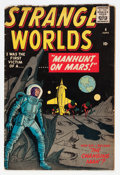Golden Age (1938-1955):Science Fiction, Strange Worlds #4 (Marvel, 1959) Condition: VG-....