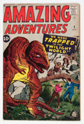 Silver Age (1956-1969):Horror, Amazing Adventures #3 (Marvel, 1961) Condition: FN-....
