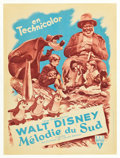 """Movie Posters:Animation, Song of the South (RKO, 1949). French Affiche (23.5"""" X 31.5"""").. ..."""