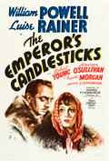 "Movie Posters:Romance, The Emperor's Candlesticks (MGM, 1937). One Sheet (27"" X 41"") Style D.. ..."