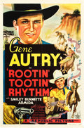 "Movie Posters:Western, Rootin' Tootin' Rhythm (Republic, 1937). One Sheet (27"" X 41"").. ..."