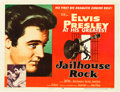 "Movie Posters:Elvis Presley, Jailhouse Rock (MGM, 1957). Half Sheet (22"" X 28"") Style A. Fromthe collection of Wade Williams.. ..."