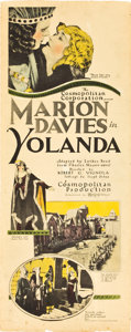 """Movie Posters:Miscellaneous, Marion Davies in Yolanda Lot (MGM, 1924 & 1930s). Insert (14"""" X36"""") and Personality Poster (22"""" X 28"""").. ... (Total: 2 Items)"""