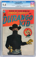 Golden Age (1938-1955):Western, The Durango Kid #1 (Magazine Enterprises, 1949) CGC NM/MT 9.8Off-white to white pages....