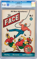 Golden Age (1938-1955):Superhero, The Face #1 (Columbia, 1941) CGC VF/NM 9.0 Off-white to white pages....
