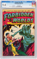 Golden Age (1938-1955):Science Fiction, Forbidden Worlds #1 River City pedigree (ACG, 1951) CGC NM 9.4Off-white pages....
