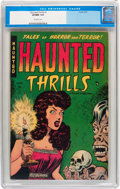 Golden Age (1938-1955):Horror, Haunted Thrills #1 (Farrell, 1952) CGC VF/NM 9.0 Off-whitepages....