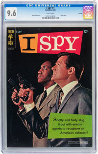 I Spy #1 Curator pedigree (Gold Key, 1966) CGC NM+ 9.6 White pages