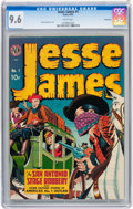 Golden Age (1938-1955):Western, Jesse James #1 Vancouver pedigree (Avon, 1950) CGC NM+ 9.6 Whitepages....