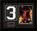 Basketball Collectibles:Photos, Chris Paul Signed Jersey Number Display....