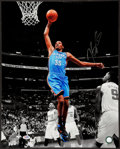 Basketball Collectibles:Photos, Kevin Durant Signed Oversized Photograph. ...