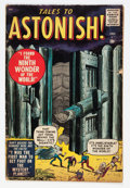 Silver Age (1956-1969):Horror, Tales to Astonish #1 (Marvel, 1959) Condition: GD/VG....