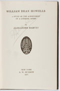 Books:Biography & Memoir, Alexander Harvey. William Dean Howells... B. W. Huebsch,1917. First edition. Some rubbing and wear to covers and co...
