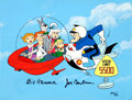 Animation Art:Model Sheet, Jetsons Speed Limit Limited Edition Cel AP#5/20 (Hanna-Barbera, 1988)....