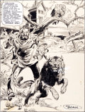 Original Comic Art:Splash Pages, Gerry Talaoc House of Secrets #153 Splash Page 1 OriginalArt (DC, 1978)....