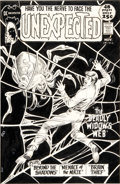 "Original Comic Art:Covers, Nick Cardy The Unexpected #129 ""The Deadly Widow's Web""Cover Original Art (DC, 1971)...."