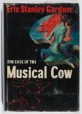 Books:Mystery & Detective Fiction, Erle Stanley Gardner. The Case of the Musical Cow. WilliamMorrow, 1950. First edition. Rubbing, wear to covers and ...