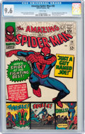 Silver Age (1956-1969):Superhero, The Amazing Spider-Man #38 (Marvel, 1966) CGC NM+ 9.6 Whitepages....