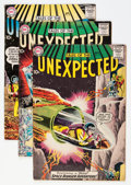 Silver Age (1956-1969):Horror, Tales of the Unexpected #43 and 47-49 Group (DC, 1959) Condition:Average VG.... (Total: 4 Comic Books)