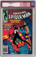 Modern Age (1980-Present):Superhero, The Amazing Spider-Man #252 Canadian Edition Marvel, 1984) CGCNM/MT 9.8 White pages....