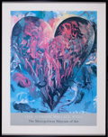Prints, JIM DINE (American, b. 1935). Lila Acheson Wallace Wing, TheMetropolitan Museum of Art: The Heart, South of Naples, 198...