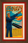 Prints, U.S. NAVY . Rutton, 20th century. Color lithograph. 42-1/4 x25-1/4 inches (107.3 x 64.1 cm). Elton Hyder III Collecti...