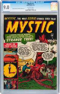 Mystic #1 (Atlas, 1951) CGC VF/NM 9.0 Off-white pages