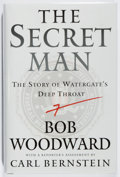 Books:Americana & American History, Bob Woodward. SIGNED. The Secret Man. Simon & Schuster,2005. First edition, first printing. Signed by the aut...
