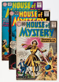 Silver Age (1956-1969):Horror, House of Mystery Group (DC, 1961-63) Condition: Average VG+....(Total: 19 Comic Books)