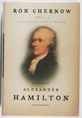 Books:Biography & Memoir, Ron Chernow. SIGNED. Alexander Hamilton. Penguin, 2004. First edition, first printing. Signed by the author. ...