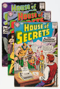 Silver Age (1956-1969):Mystery, House of Secrets Group (DC, 1959-63) Condition: Average VG-....(Total: 19 Comic Books)