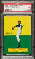 Baseball Cards:Singles (1960-1969), 1964 Topps Stand-Up Roberto Clemente PSA NM 7....