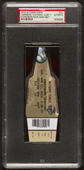 Baseball Collectibles:Tickets, 2010 Stephen Strasburg Minor League Debut Full Ticket. ...