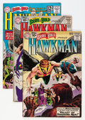 Golden Age (1938-1955):Miscellaneous, The Brave and the Bold - Hawkman Group (DC, 1964-65) Condition: Average VG.... (Total: 4 Comic Books)