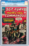 Silver Age (1956-1969):War, Sgt. Fury and His Howling Commandos #11 Northland pedigree (Marvel, 1964) CGC NM+ 9.6 Off-white pages....