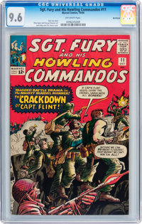 Sgt. Fury and His Howling Commandos #11 Northland pedigree (Marvel, 1964) CGC NM+ 9.6 Off-white pages