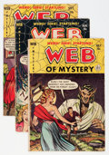 Golden Age (1938-1955):Horror, Web of Mystery Group (Ace, 1952-53).... (Total: 7 Comic Books)