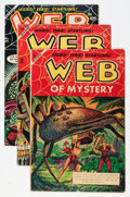 Golden Age (1938-1955):Horror, Web of Mystery Group (Ace, 1953-55).... (Total: 6 Comic Books)