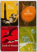 Books:Science Fiction & Fantasy, [Jerry Weist]. Group of Four Avalon First Edition Books. 1960-1965. All in very good or better condition. ... (Total: 4 Items)