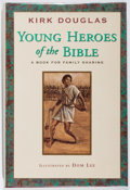 Books:Children's Books, Kirk Douglas. SIGNED. Young Heroes of the Bible. Simon andSchuster, 1999. First edition, first printing. Signed b...