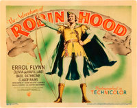 """The Adventures of Robin Hood (Warner Brothers, 1938). Title Lobby Card (11"""" X 14"""")"""