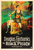 "Movie Posters:Swashbuckler, The Black Pirate (United Artists, 1926). One Sheet (27"" X 41"").. ..."